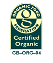 Certified by The Organic Food Federation